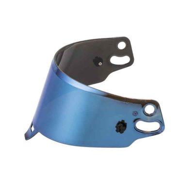 Sparco spiegelvisier - Blauw