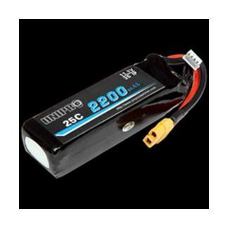 Unipro Lipo battery 11.1 V 2200 mAh (weight 185 g) for UniGo