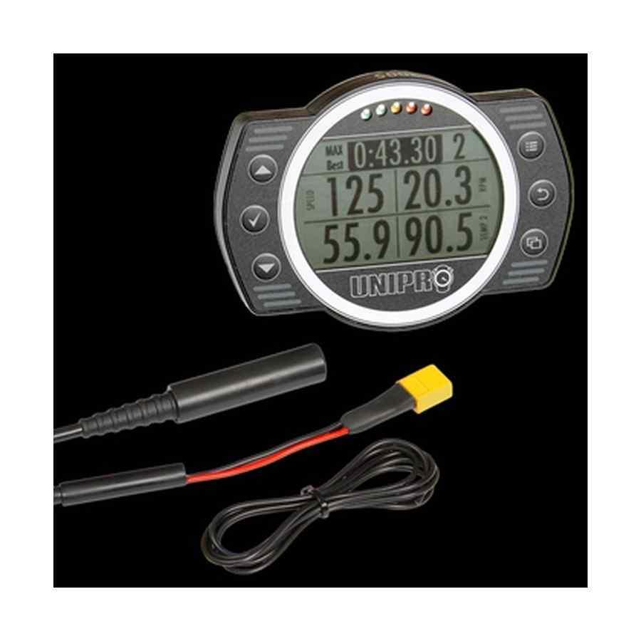 Unigo 6005 Ready-to-Race kit data logging systeem voor karting inclusief GPS sensor