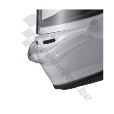 Arai kinspoiler transparant voor alle Arai autosport- en kartinghelmen