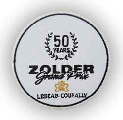 Badge 50 Jaar Circuit Zolder