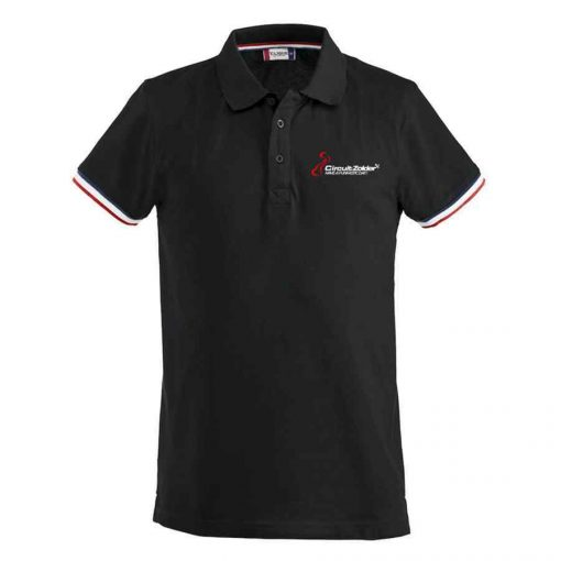 Funfastic Polo - Zwart Wit Rood