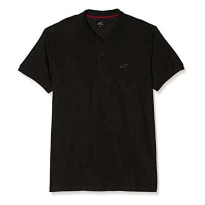 Alpinestars Effortless Polo - Casuale polo zwart met HD logo