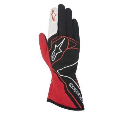 Alpinestars Tech 1 Z Autohandschoenen Zwart Rood Wit
