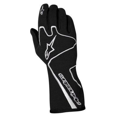 Alpinestars Tech 1 Race Autosporthandschoen Zwart Wit