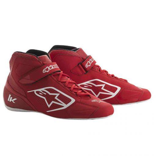 Alpinestars schoen voor kartsport Tech 1 K rood wit