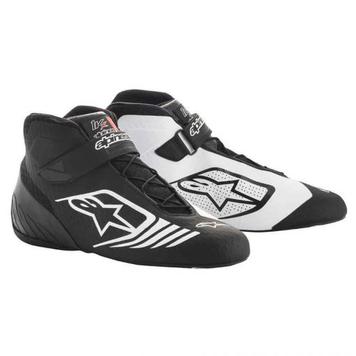 Alpinestars Kartingschoen Tech 1 KX Zwart Wit