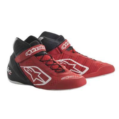 Alpinestars Tech 1KZ schoen voor karting rood zwart