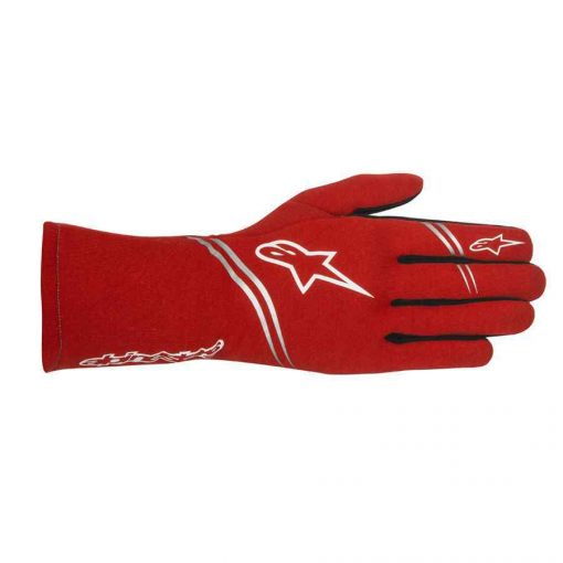 Alpinestars Tech 1 Start FIA autosport handschoen rood