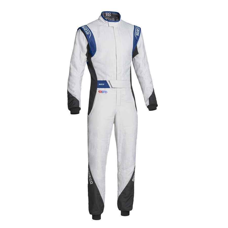 Sparco Eagle RS-8.2 raceoverall Wit Zwart Blauw FIA keuring