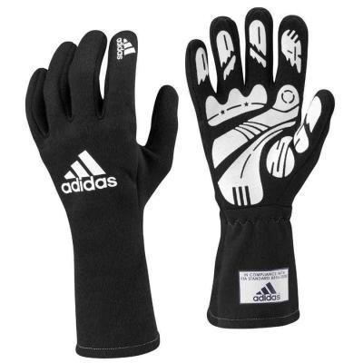 Adidas Daytona FIA handschoenen voor autosport zwart