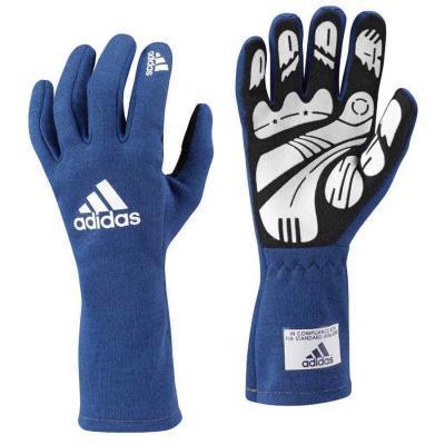 Adidas Daytona autosporthandschoen blauw ideaal voor trackdays