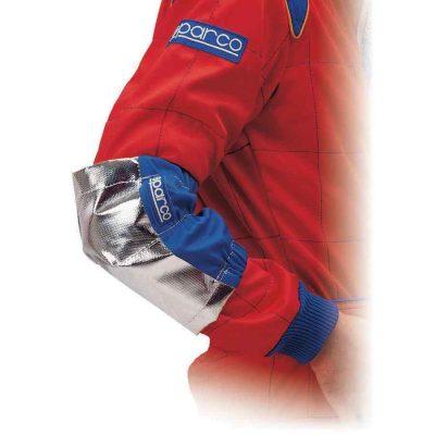 Sparco elleboogbeschermers voor kartsport hittebestendig