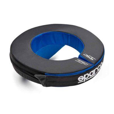Sparco Nekbeschermer - Zwart Blauw