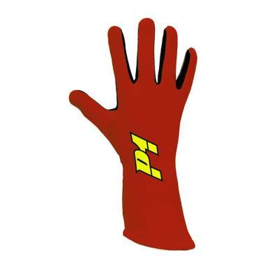P1 Apex Racehandschoen - Rood