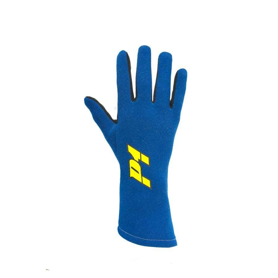P1 Apex Racehandschoen - Blauw