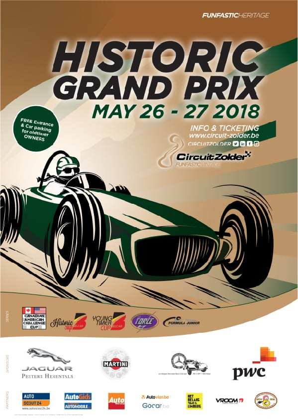 Historic Grand Prix @ Circuit Zolder