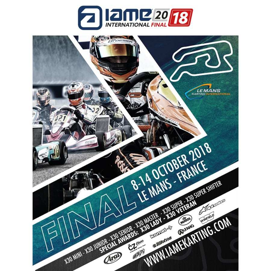 IAME International Final 2018 @ Le Mans International Karting