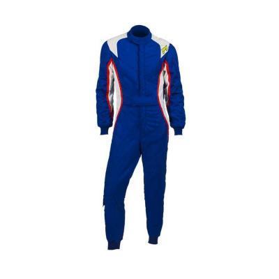 P1 Racewear FIA Racepak Turbo - Blauw/ Wit