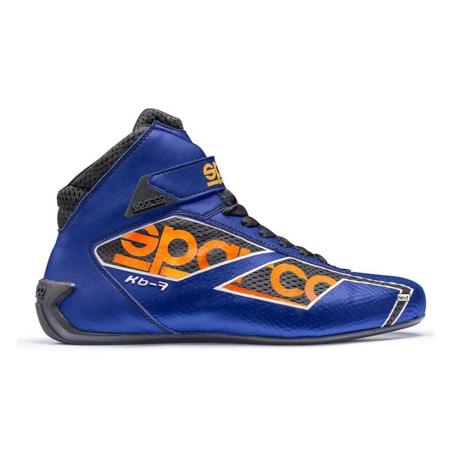 Sparco KB-7 Kartschoen - Blauw/ Oranje/ Zwart : PROMO Kartschoen!