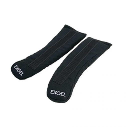 HANS Systeem ExGel Speciale gelpads voor schoudercomfort - Zwart