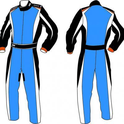 X'Zuit overall voor kartsport CIK-FIA homologatie patroon 2
