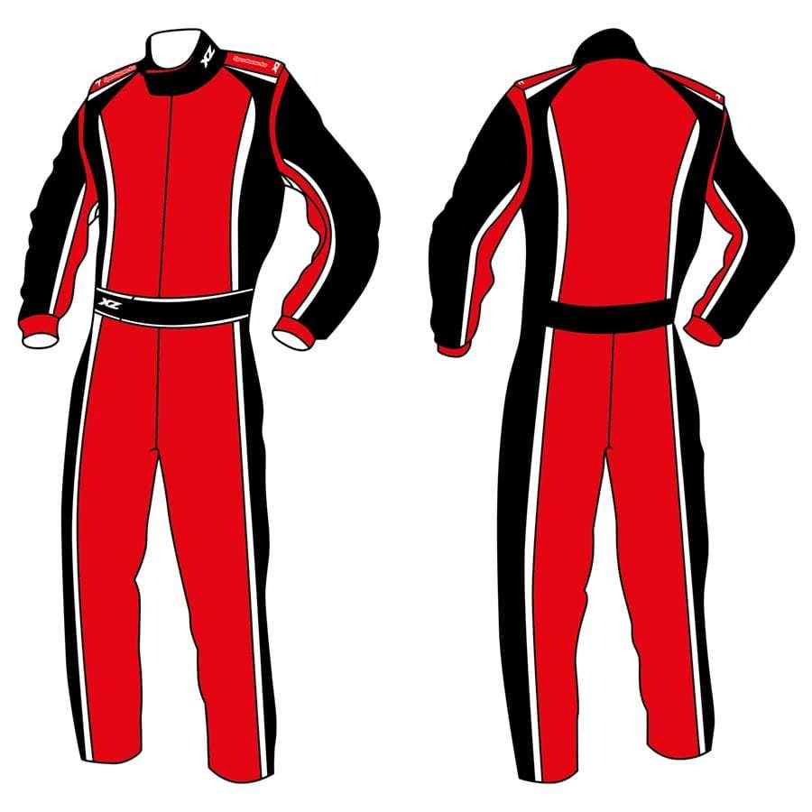 X'Zuit kartoverall CIK-FIA homologatie voorbeeld 8