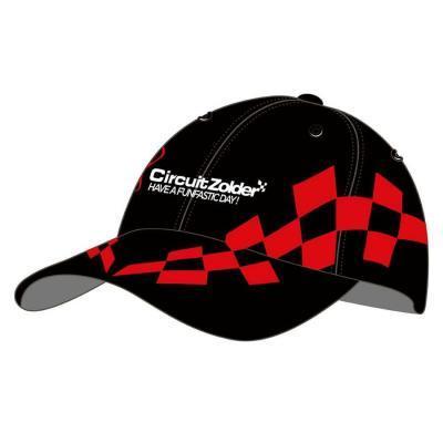 Funfastic pet Circuit Zolder zwart met rode finish vlag