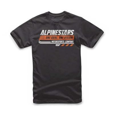 Alpinestars Bravo modieuze T-shirt voor kids Zwart