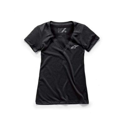Alpinestars Women's Vneck T-shirt Zwart