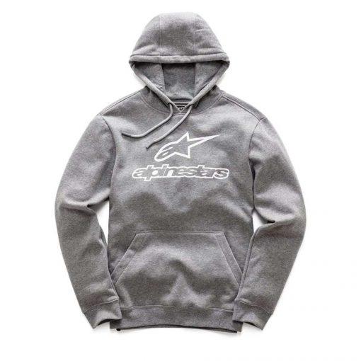Alpinestars Always Fleece hooded sweater voor heren grijs