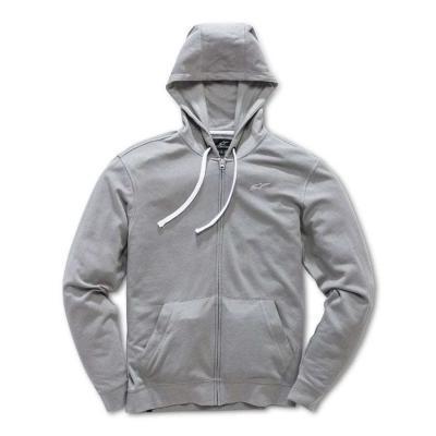 Alpinestars Bona Fide Fleece - Grijze sweater met volledige ritssluiting
