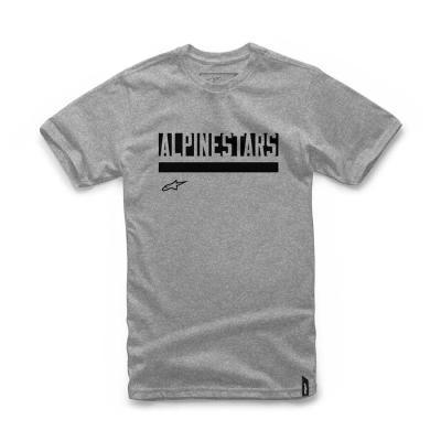 Alpinestars Stated Tee - Grijze Modieuze T-shirt voor heren