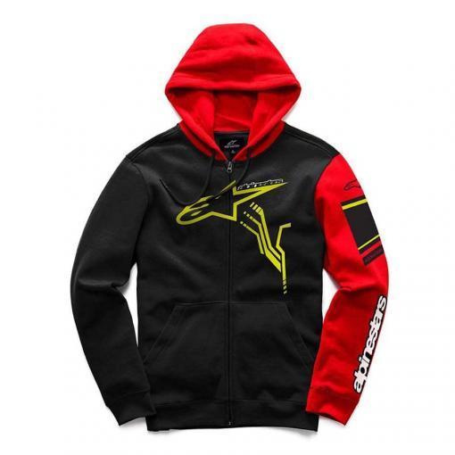 Alpinestars GP Plus - Trendy sweater met zipper zwart wit