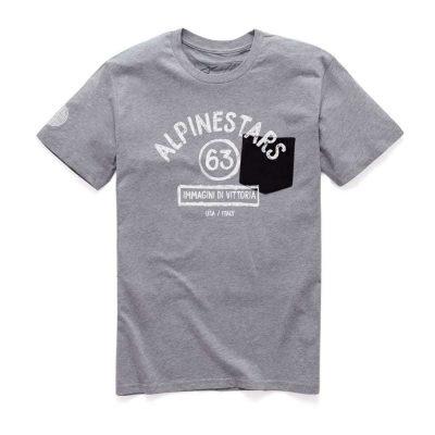 Alpinestars Paint Premium Tee - Trendy T-shirt heren grijs