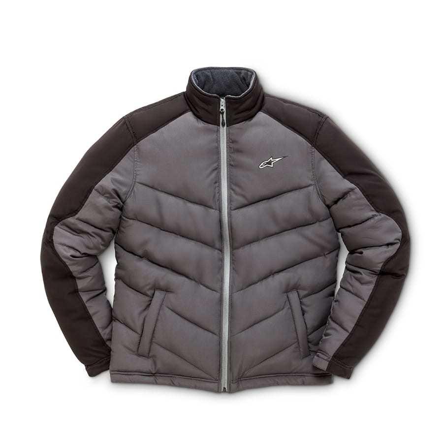 Winterjas Heren Stoer.Alpinestars Challenge Jacket Grijs Zwart Winterjas Voor Heren