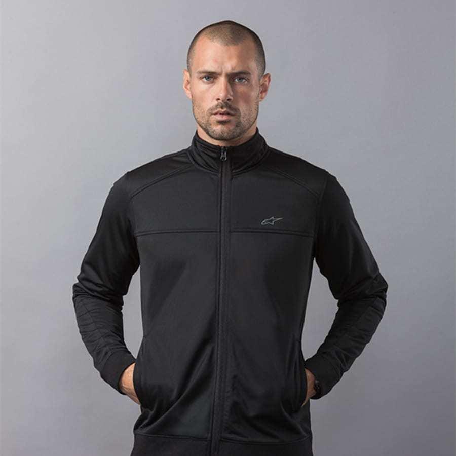 Alpinestars Pace Track Jacket zwart - dunne jas voor heren