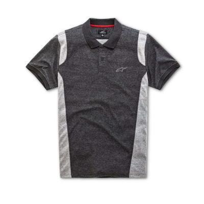 Alpinestars Double Face Polo - Trendy polo voor heren donker grijs