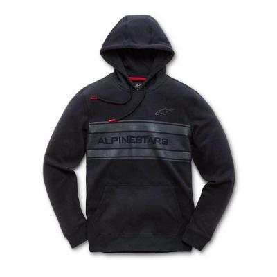 Alpinestars Pole Fleece Zwart - Modieuze herensweater met kap