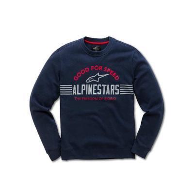 Alpinestars Bars Fleece Navy - Trendy sweater voor heren