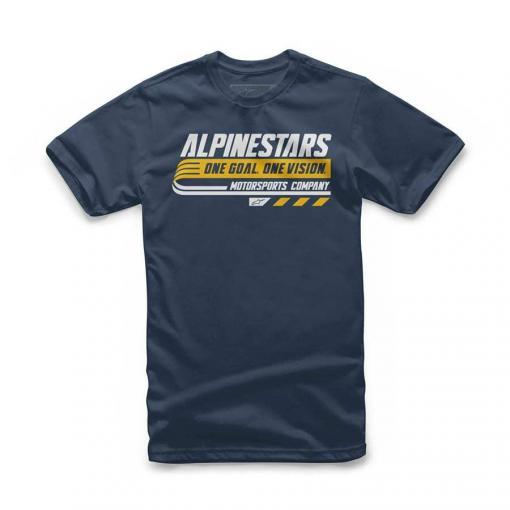 Alpinestars Kids Bravo T-shirt Navy