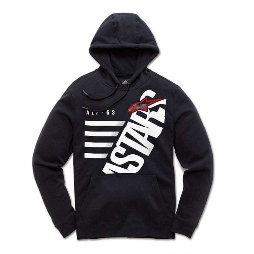 Alpinestars Bigun Fleece Zwart Wit - Trendy sweater voor kids