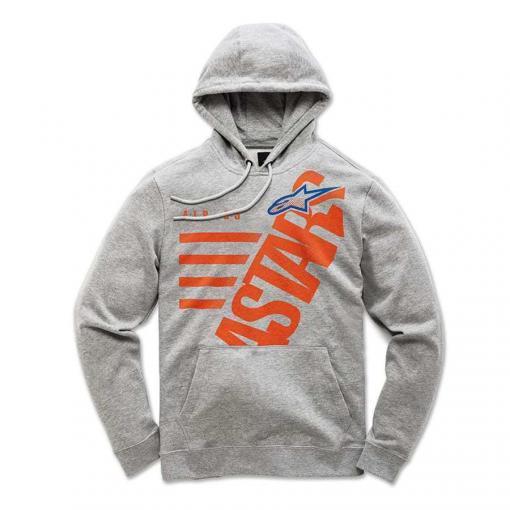 Alpinestars Bigun Fleece Grijs - Trendy kids hoodie