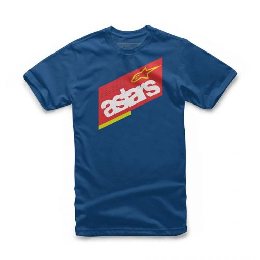 Alpinestars Kids Tabulate T-shirt Blauw voor kinderen