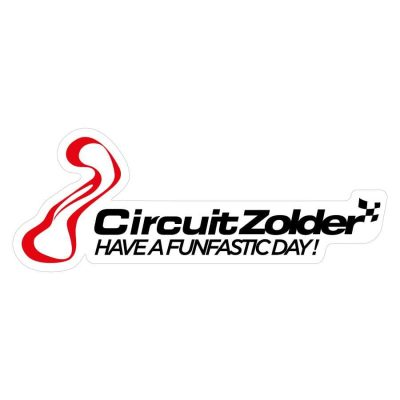 Circuit Zolder Badge Wit