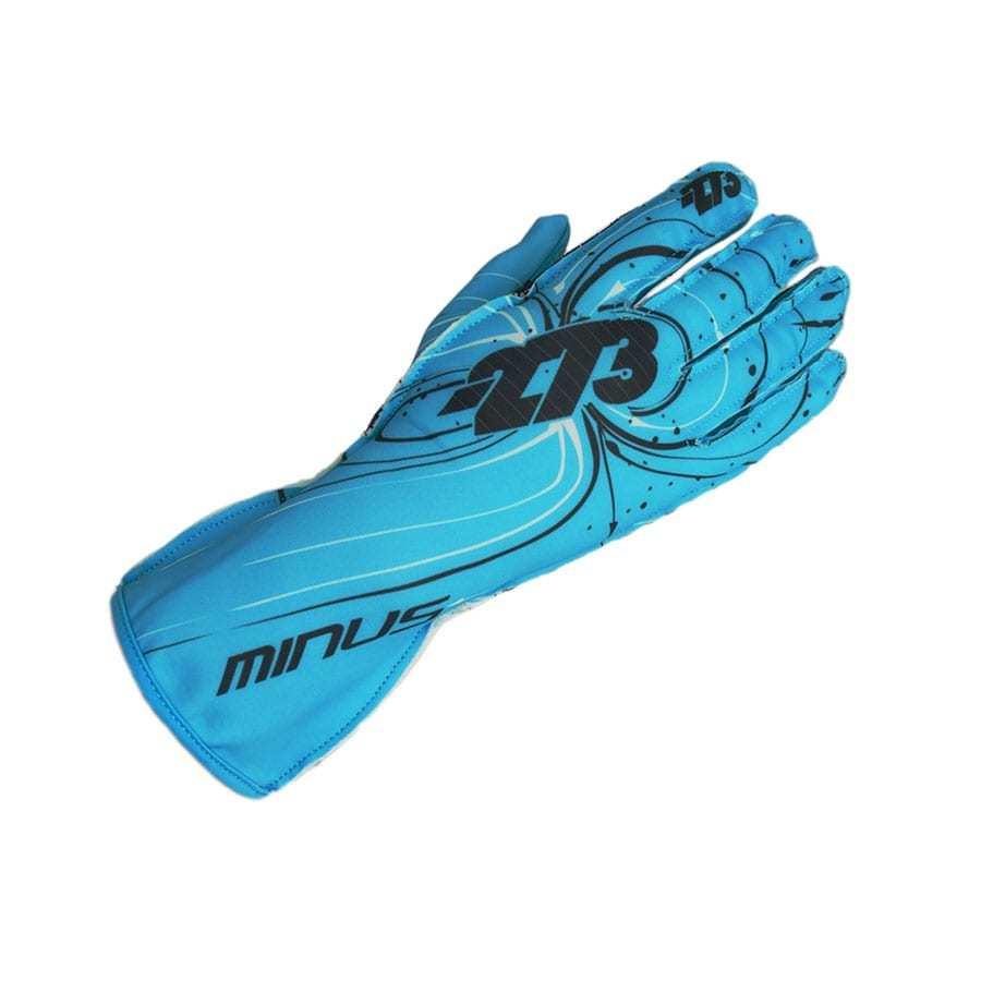 Minus 273 handschoen voor karting Cyaan - Zéér fexibel