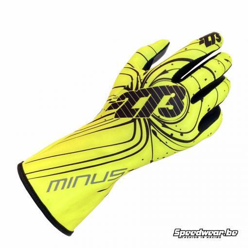 Minus 273 Handschoen voor kartsport type ZERO Fluo Geel