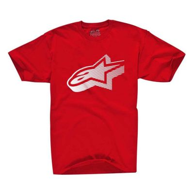 Alpinestars Faded Classic - T-shirt rood voor mannen
