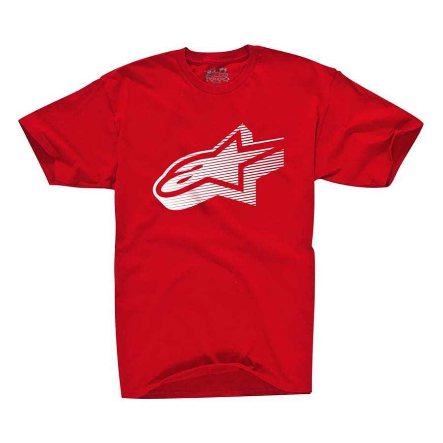 Alpinestars Faded Classic - T-shirt rood voor mannen