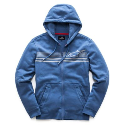 Alpinestars Dynamic Fleece - zipped heren hoodie blauw